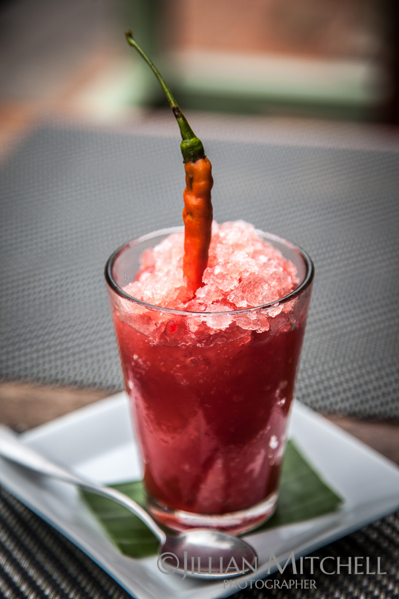 Chilli Watermelon Granita